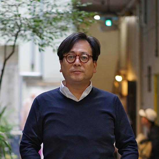 上野万太郎のプロフィール写真です。